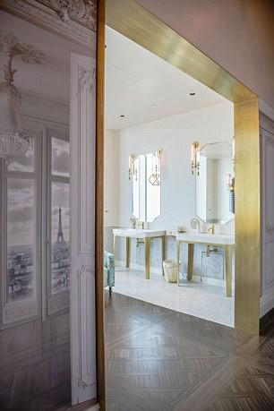 Những nhà vệ sinh đẹp lung linh - Ảnh 2.