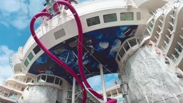 Clip khám phá du thuyền lớn nhất thế giới - Ảnh 3.