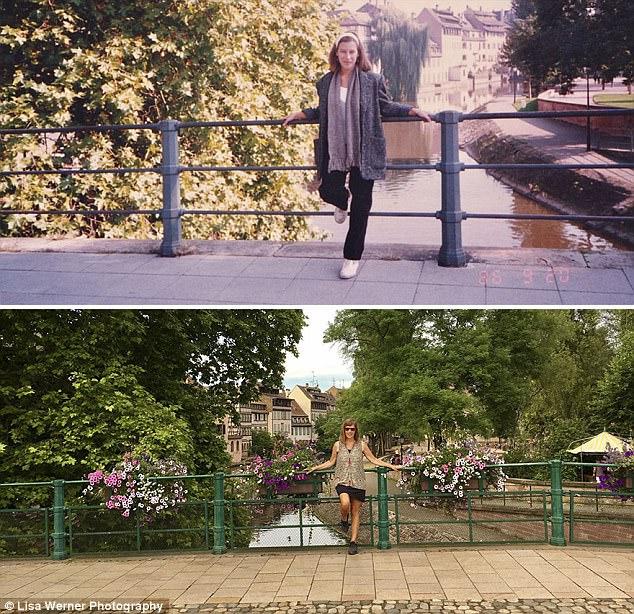 Nữ du khách quay lại châu Âu chụp ảnh đúng nơi từng đến 30 năm trước - Ảnh 4.