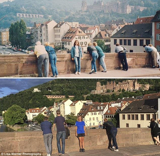 Nữ du khách quay lại châu Âu chụp ảnh đúng nơi từng đến 30 năm trước - Ảnh 5.