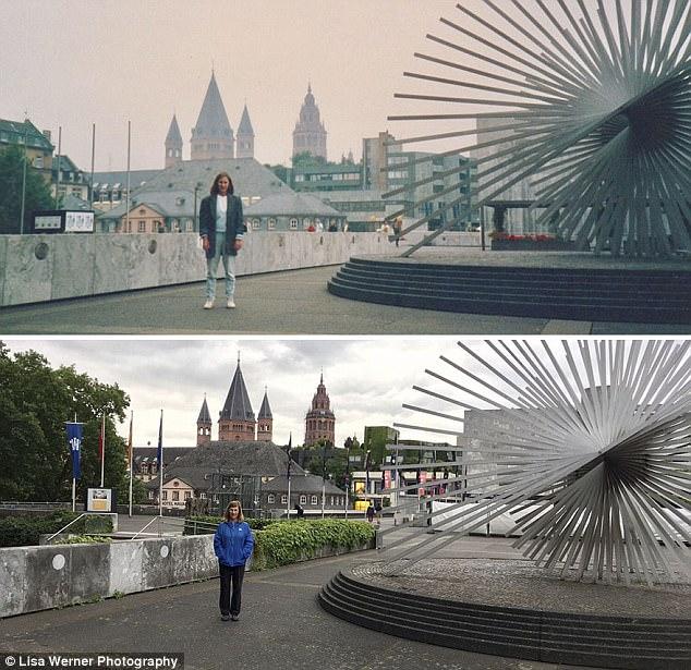 Nữ du khách quay lại châu Âu chụp ảnh đúng nơi từng đến 30 năm trước - Ảnh 6.