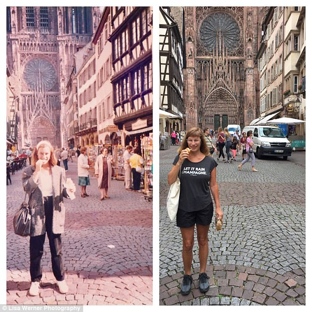 Nữ du khách quay lại châu Âu chụp ảnh đúng nơi từng đến 30 năm trước - Ảnh 7.