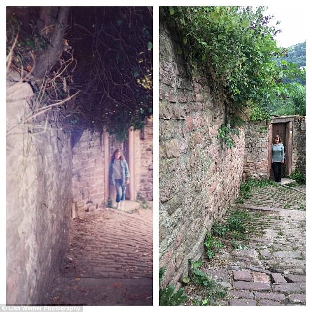 Nữ du khách quay lại châu Âu chụp ảnh đúng nơi từng đến 30 năm trước - Ảnh 8.