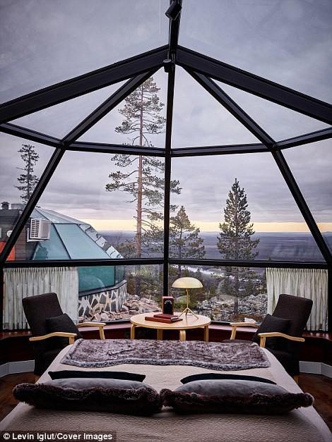 Ghé Phần Lan ngắm cực quang trong lều tuyết bằng kính - Ảnh 6.