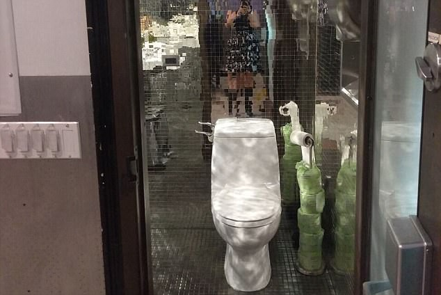 Những nhà vệ sinh đẹp lung linh - Ảnh 6.
