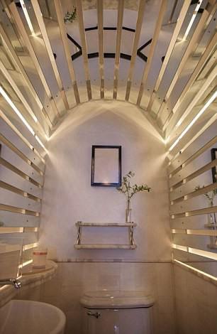 Những nhà vệ sinh đẹp lung linh - Ảnh 7.