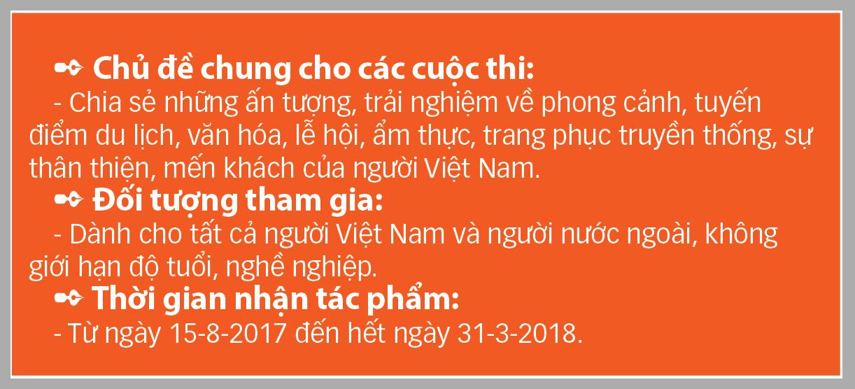 Gửi ảnh, clip, bài thi Tận hưởng bản sắc Việt lần 2 để rinh giải thưởng lớn - Ảnh 1.