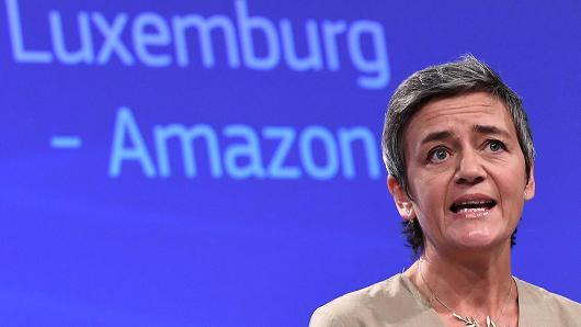 EU phạt Amazon gần 300 triệu USD vì sai phạm thuế - Ảnh 1.