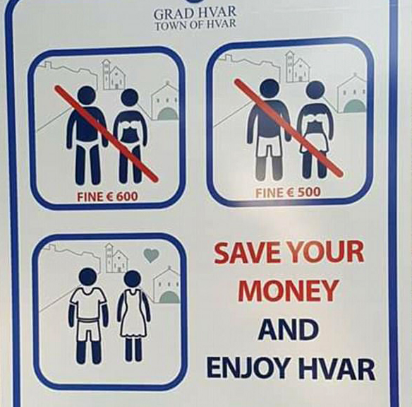 Croatia phạt tiền du khách ăn, uống và ngủ nơi công cộng - Ảnh 2.