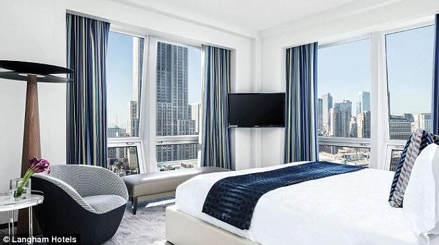 7 khách sạn giúp bạn ngắm Eiffel, Taj Mahal, Empire State... ngay từ phòng ngủ - Ảnh 2.