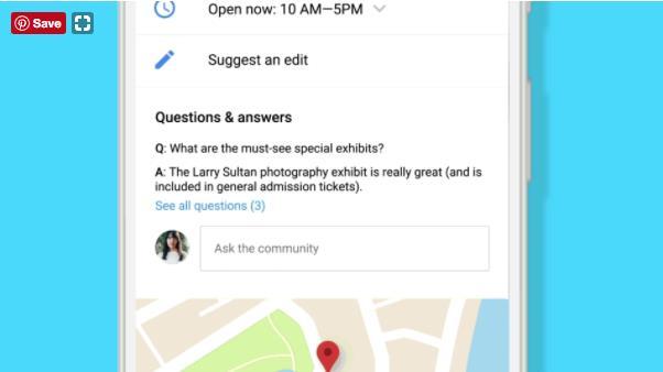Google Maps thêm tính năng hỏi đáp - Ảnh 1.