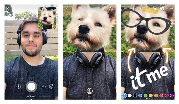 Chế hình ảnh vui nhộn từ tin nhắn Instagram  - Ảnh 2.