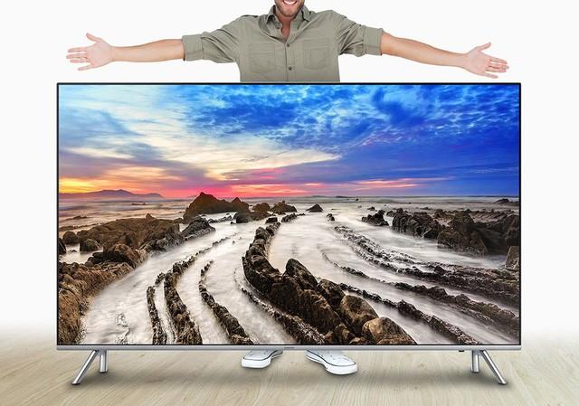 Màn hình lớn: xu hướng của ngành công nghiệp TV - Ảnh 1.