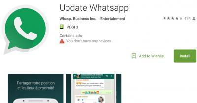 Đừng tải WhatsApp Business trên Google Play vì đây chỉ là ứng dụng giả mạo - Ảnh 2.