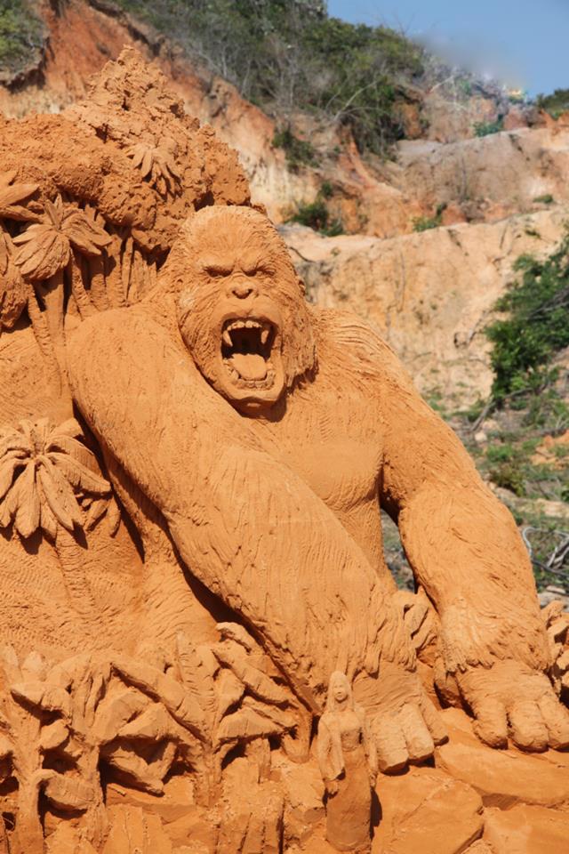 Phan Thiết có Công viên tượng cát đầu tiên trên thế giới