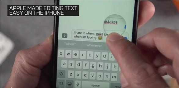 Cách lôi ra con chuột ẩn trong bàn phím iPhone - Ảnh 1.