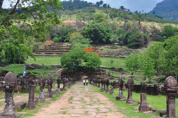 Wat Phou một thời vang bóng - Ảnh 4.