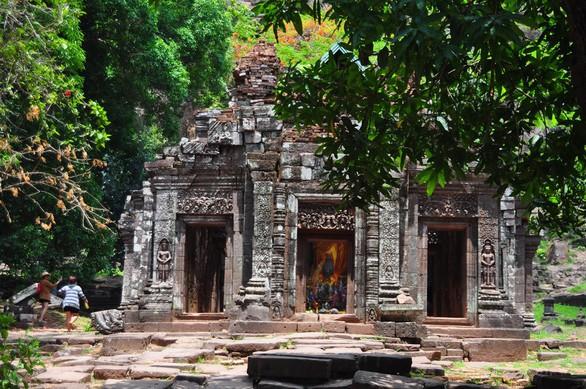 Wat Phou một thời vang bóng - Ảnh 1.