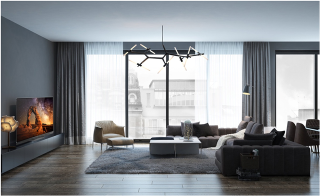 Nâng cấp phòng khách hiện đại với thế hệ TV OLED - Ảnh 1.