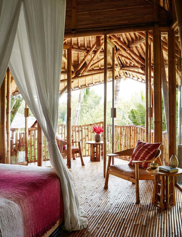 Biệt thự bằng tre độc đáo ở Bali - Ảnh 4.