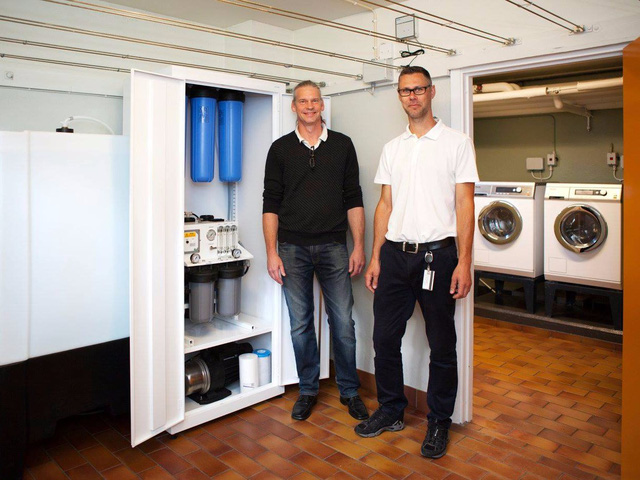 Đã có máy giặt không cần dùng… bột giặt - Ảnh 1.