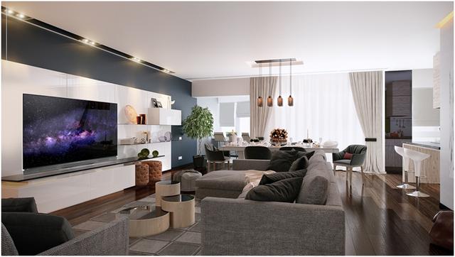 Nâng cấp phòng khách hiện đại với thế hệ TV OLED - Ảnh 2.