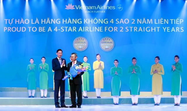 VNA khẳng định vị thế hàng không quốc tế 4 sao - Ảnh 1.