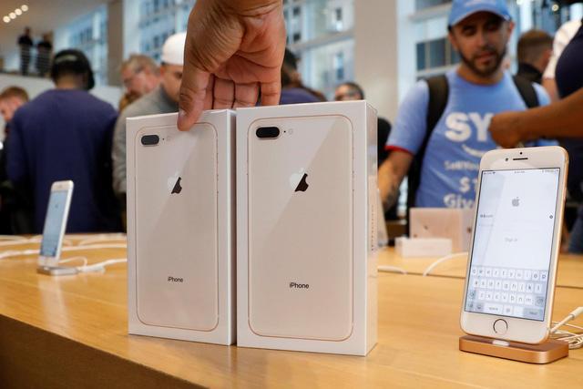 iPhone 8 mở bán toàn cầu khá lặng lẽ - Ảnh 1.