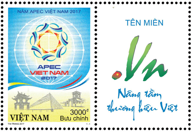 """Tên miền """".VN"""" lên tem Bưu chính Việt Nam - Ảnh 2."""