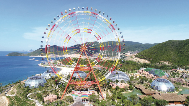 Vinpearl Sky Wheel: kỷ lục mới tại Vinpearl Land Nha Trang - Ảnh 3.