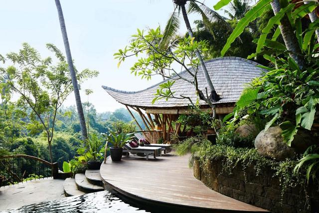 Biệt thự bằng tre độc đáo ở Bali - Ảnh 7.