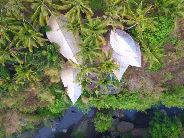 Biệt thự bằng tre độc đáo ở Bali - Ảnh 1.