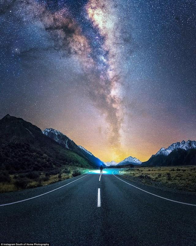 Đến New Zealand ngắm bầu trời đêm đầy sao đẹp như mơ - Ảnh 3.