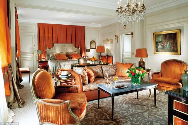Ngắm 10 phòng suite đắt đỏ nhất thế giới - Ảnh 10.