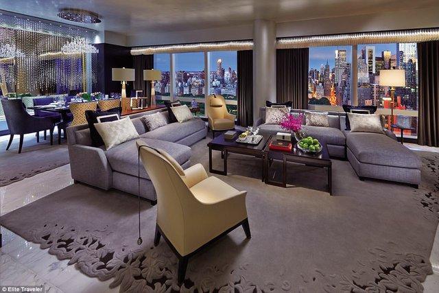 Ngắm 10 phòng suite đắt đỏ nhất thế giới - Ảnh 8.