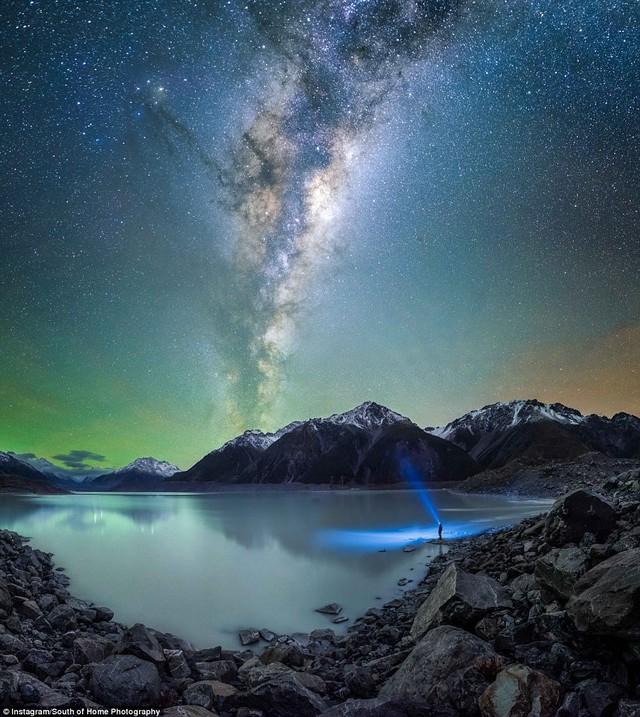 Đến New Zealand ngắm bầu trời đêm đầy sao đẹp như mơ - Ảnh 6.