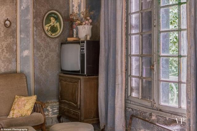 Tham quan căn nhà bị bỏ hoang 20 năm ở Pháp giá 3 tỉ đồng - Ảnh 4.