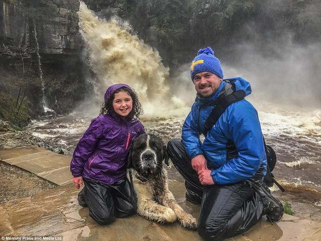 Chú chó cùng chủ lướt ván, trượt tuyết, cắm trại hàng tuần - Ảnh 5.