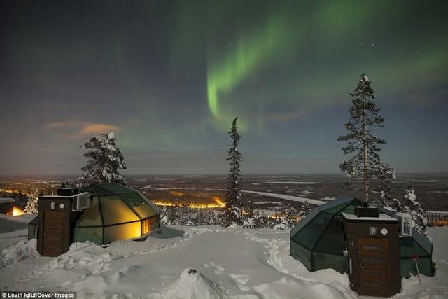 Ghé Phần Lan ngắm cực quang trong lều tuyết bằng kính - Ảnh 5.