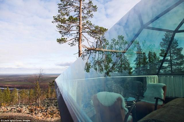 Ghé Phần Lan ngắm cực quang trong lều tuyết bằng kính - Ảnh 7.
