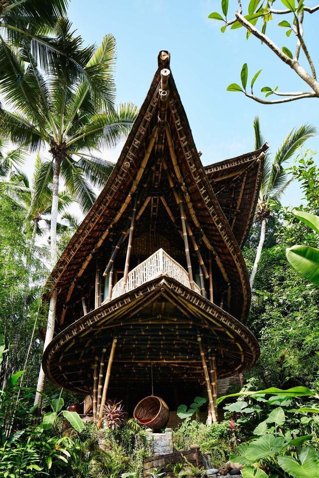 Biệt thự bằng tre độc đáo ở Bali - Ảnh 5.