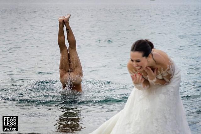 Ảnh cưới của nhiếp ảnh gia gốc Việt đạt giải thưởng Fearless Award - Ảnh 2.