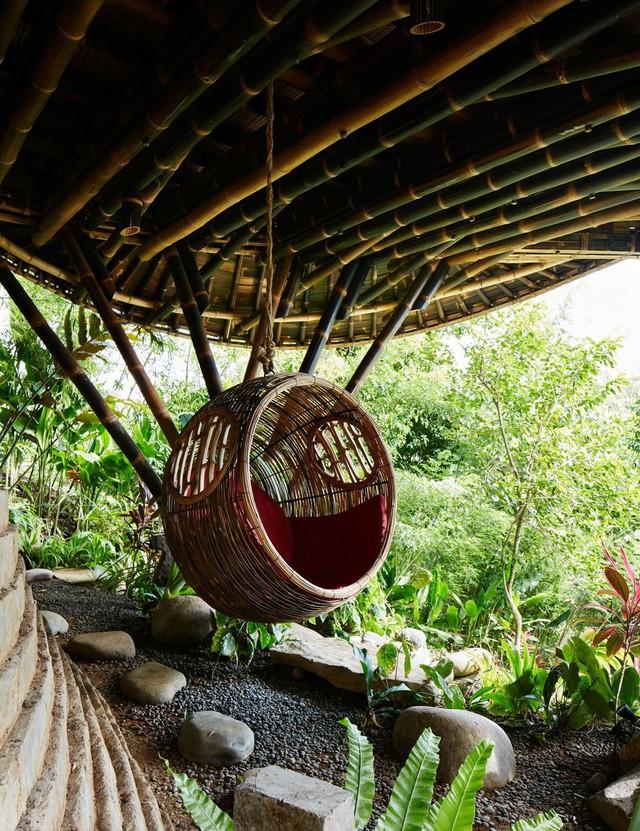 Biệt thự bằng tre độc đáo ở Bali - Ảnh 6.