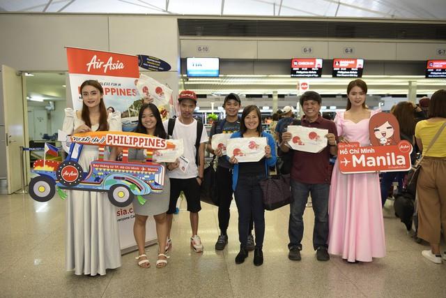 AirAsia mở chuyến bay thẳng đầu tiên từ TP.HCM đến Manila - Ảnh 2.