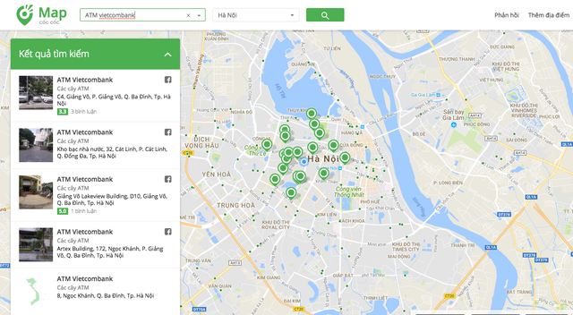 Gần 1,2 triệu điểm dịch vụ trên bản đồ số Cốc Cốc Map - Ảnh 1.