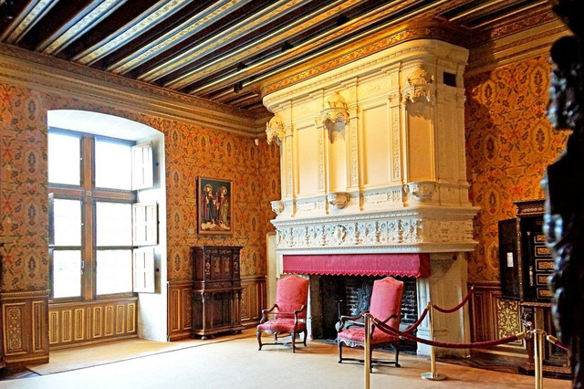Tham quan tòa lâu đài của những quý bà ở Pháp - Ảnh 5.