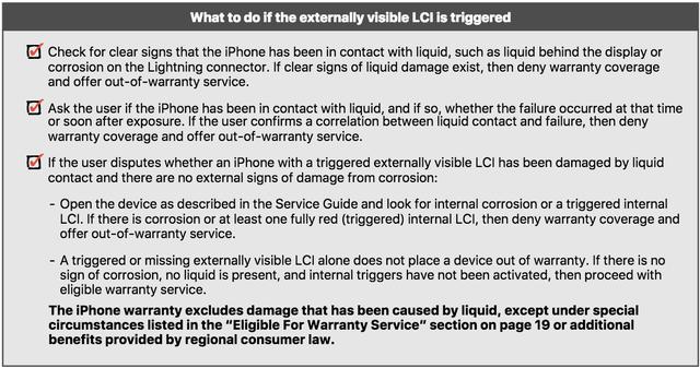 Rò rỉ tài liệu chỉ dẫn những trục trặc nào của iPhone được bảo hành? - Ảnh 2.
