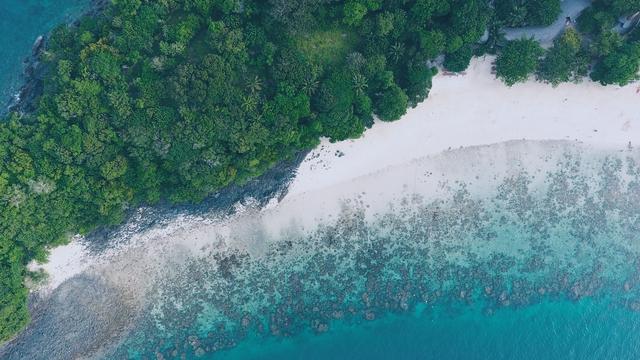 Tận hưởng cảnh đẹp mê ly ở Coral - đảo san hô đẹp nhất Thái Lan - Ảnh 1.
