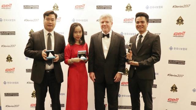 Viettel có kỷ lục mới tại Giải thưởng kinh doanh Quốc tế Stevie Awards 2017 - Ảnh 2.
