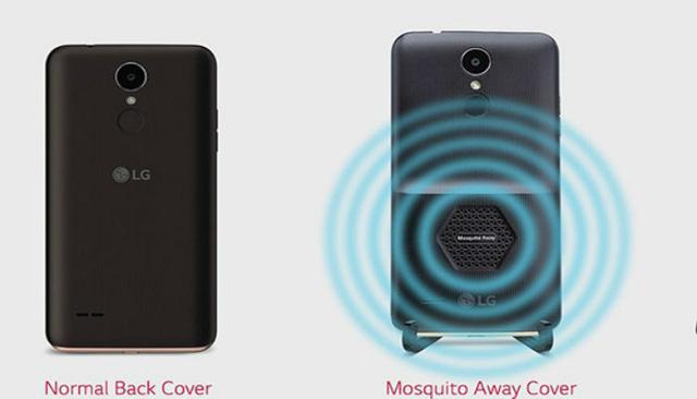 Điện thoại... đuổi muỗi